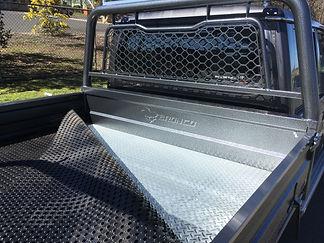 Highquality rubber matting Bronco Ute Trays