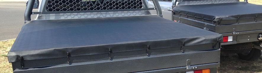tonneau cover Bronco built steel ute trays