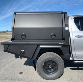 Toyota Hilux V5 Integrated Boxes