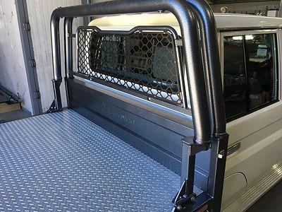 Toyota Landcruiser ladder rack Bronco Ute Trays Australia