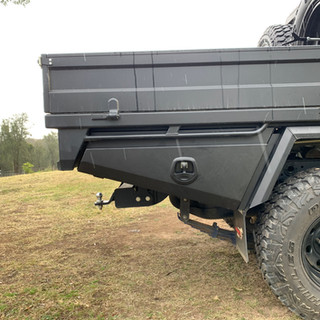 Toyota Landcruiser V5 Integrated Boxes