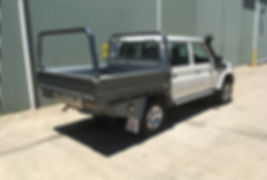 Tradie or weekend warrio ladder rack built tough Bronco Ute Trays