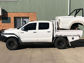 Bronco old Hilux Steel Tray