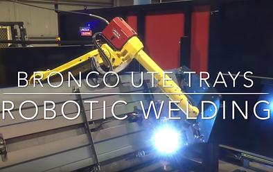 Bronco Ute Trays Robot Welding