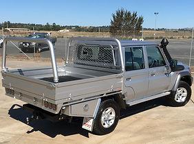 Bronco LandCruiser Steel Tray