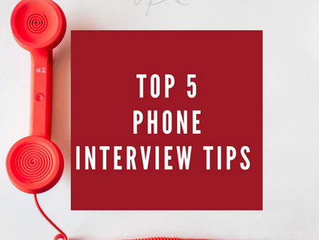 Top 5 Phone Interview Tips That Will Help You Succeed