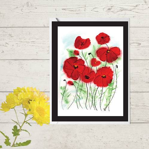 Floral Poppies