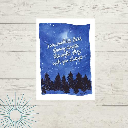 Countless Stars Print