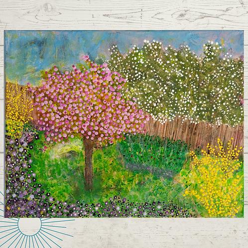 Spring in Bloom Print