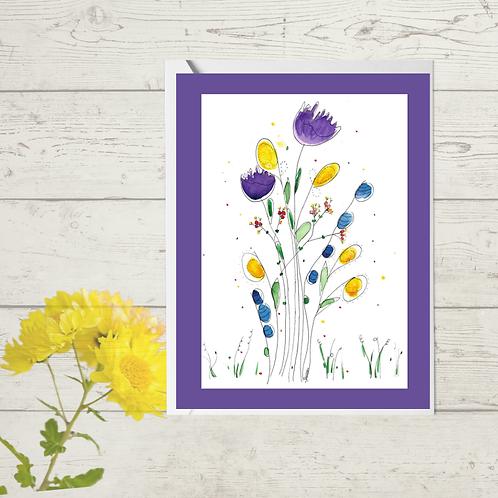 Floral Purple Wild