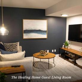 The Healing Home Living Room