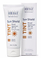 Obagi Sun Shield Broad Spectrum SPF 50 Sunscreen Lotion Infrared Defense, available from Allure Aesthetics Ltd skin care clinic in Abergavenny, South Wales