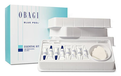Obagi Blue Peel available at Allure Aesthetics Ltd skin care clinic in Abergavenny, South Wales