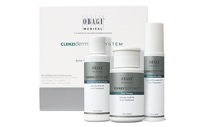 Obagi CLENZIderm M.D System is available at Allure Aesthetics Ltd skin care clinic in Abergavenny, South Wales