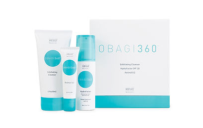 Obagi360 System available at Allure Aesthetics Ltd skin care clinic in Abergavenny, South Wales