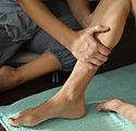 Fysiotherapie op been