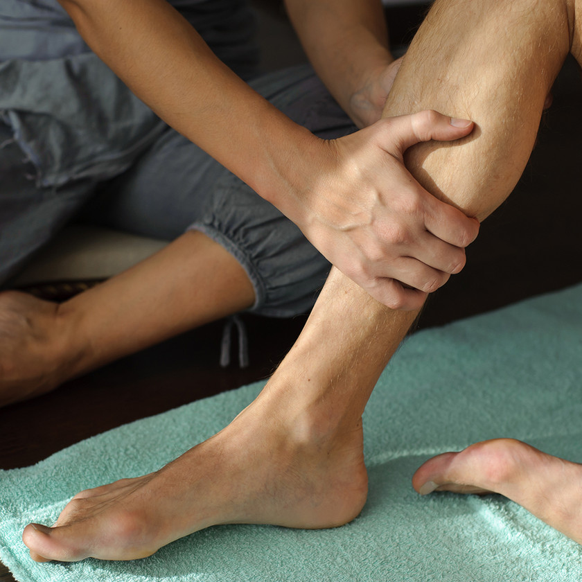 Assisted Thai Stretch