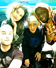 Eva Shaw, showtech and Wyclef!