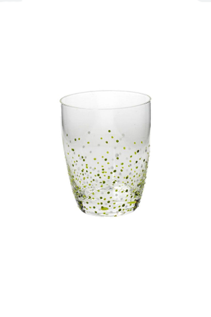 SET 6 BICCHIERE DEC. LIME