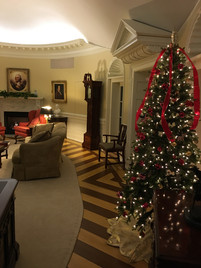 Oval Office Design Christmas Tree
