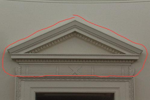 Oval Office Replica Full-Size Pediment