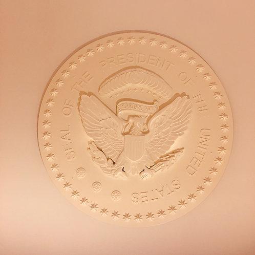 Oval Office Presidential Seal Eagle Medallion - Full Mounted Eagle