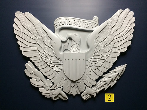Oval Office Presidential Seal Eagle Medallion - Eagle & Claws ONLY