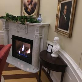 Oval Office Design Fireplace