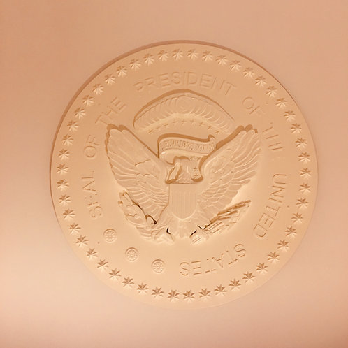 Oval Office Presidential Seal Eagle Medallion - Unassembled Kit ONLY