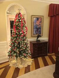 Oval Office Christmas Tree