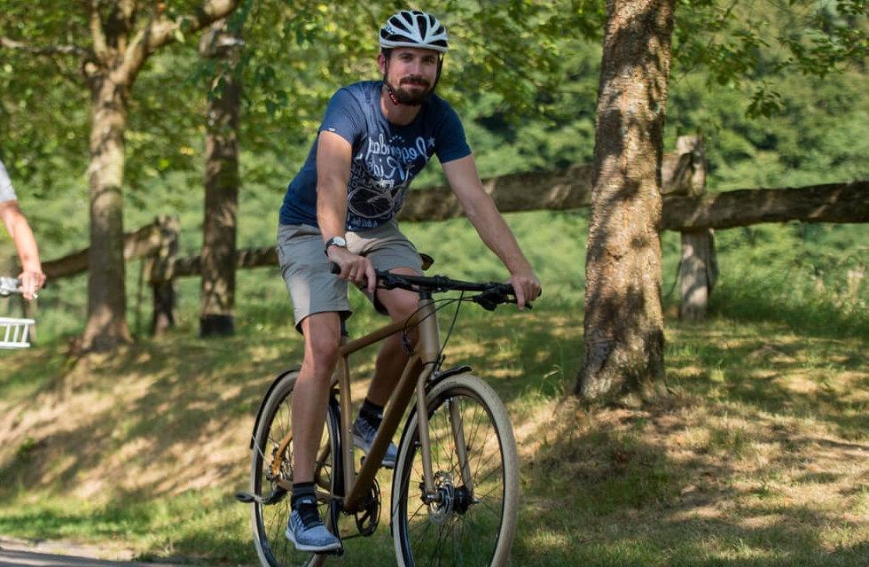 Bliesgau, Alexander Stopp, Puls-Sport, E-Bike, Kreidler, Haibike, Biosphäre, Blieskastel, Paradeplatz