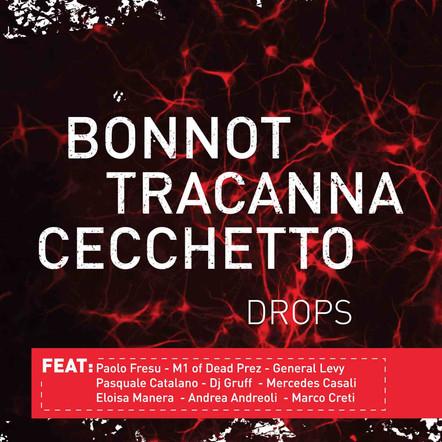 """Bonnot Tracanna Cecchetto trio / """"Drops"""" album"""