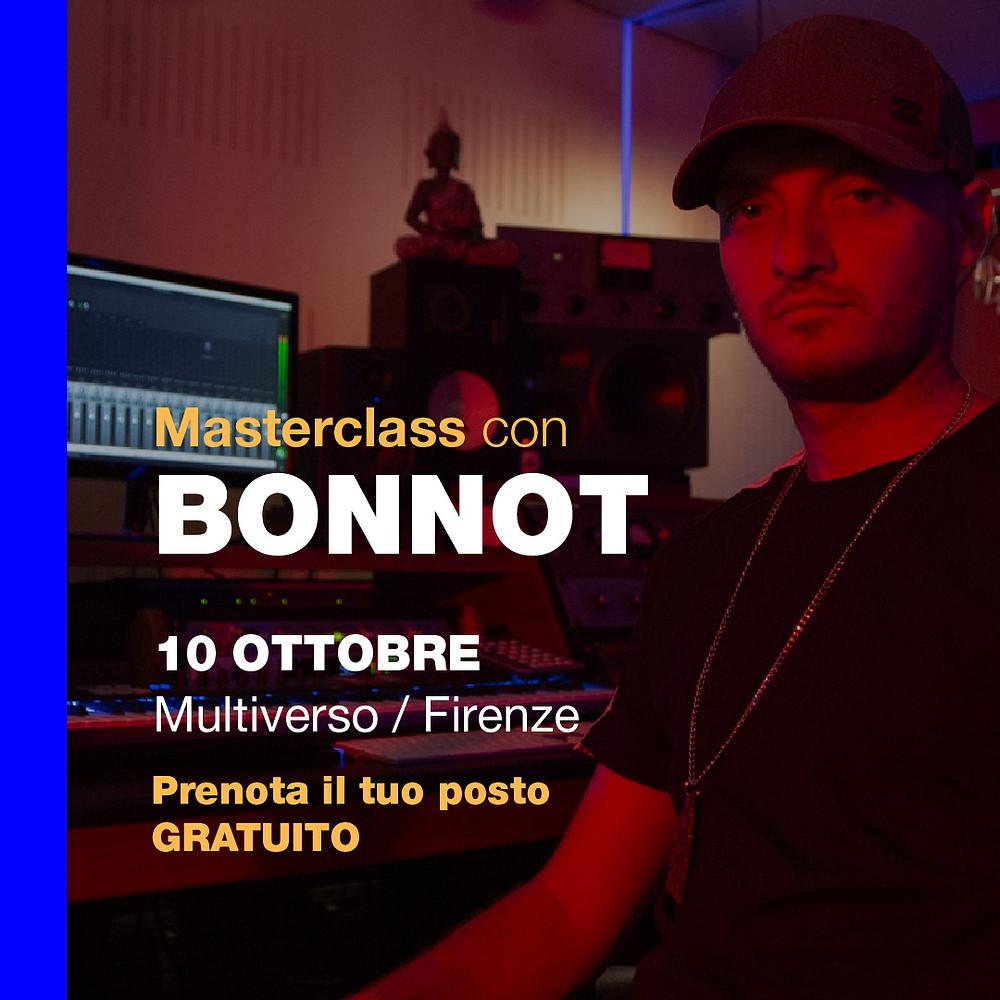 Masterclass Bonnot a Firenze 10 Ottobre 2019 @ Multiverso Studio