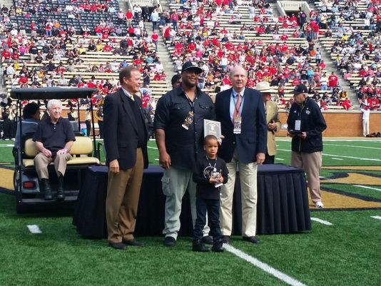 Tate Grad Robbins Inducted in Wake Forest Hall of Fame