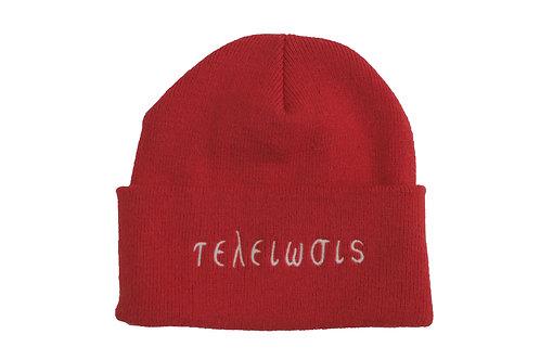 "Red ""Nupe"" Skull Cap"
