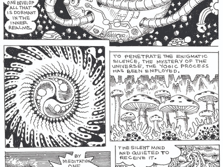The Daily Heller: Gary Panter Goes Hippie with New Underground Comic
