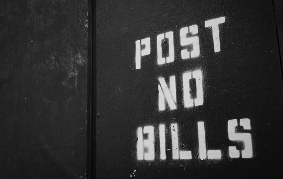 The Daily Heller: Post More Bills