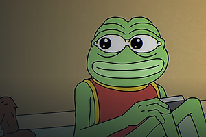 The Daily Heller: Pepe the Frog Wronged By Alt-Right, Made Whole Again