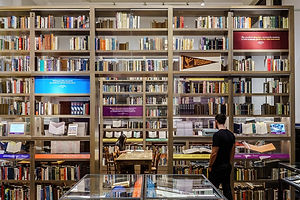 The Daily Heller: Designing the Philip Roth Library Room