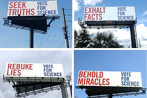 The Daily Heller: Science is Nonpartisan. Knowledge is Universal. Vote!