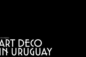 The Daily Heller: Uruguay, Deco Style