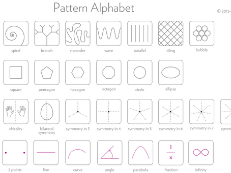 The Daily Heller: Visualizing Learning Patterns Through Nature's Spatial Patterns