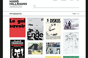 The Daily Heller: Hans Hillmann Made Posters That Hold Up When They Are Hung Up