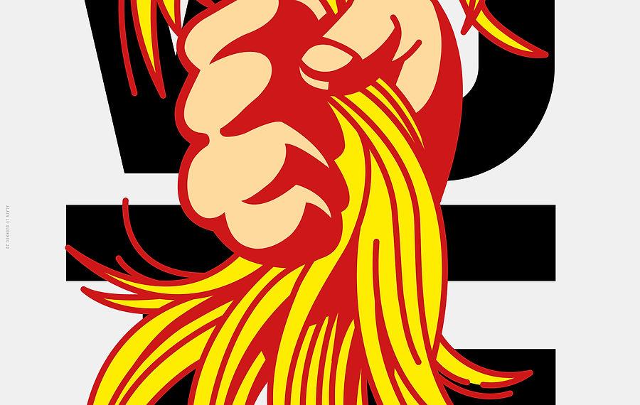The Daily Heller: A Hair-Raising Poster Race