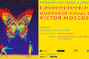 The Daily Heller: Victor Moscoso's Psychedelic Big Bang in A Coruña