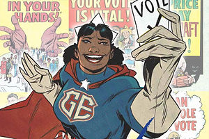 The Daily Heller: Voting Comics Introduce Real Superheroes
