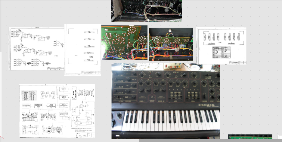 DS2 SYNTHBOARD EX