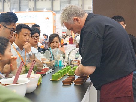 Aalst Chocolate at Bakery China 2016
