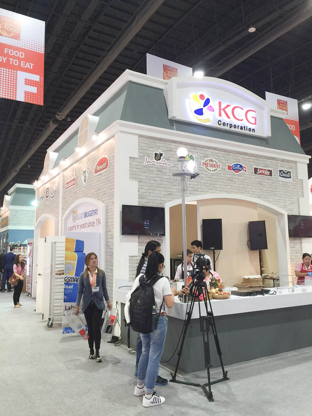 Booth of KCG Corporation