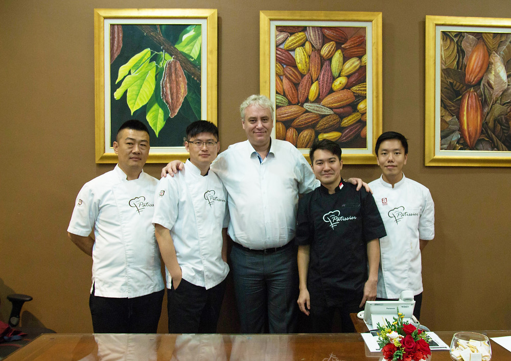 Group Photo of Our Chefs from Singapore and Shanghai lead by our Corporate Chef (Middle)